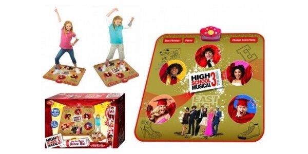 300 Kč za taneční podložku High School Musical 3 včetně poštovného