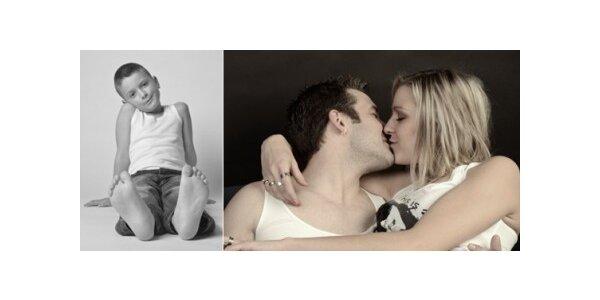 Profesionální fotografování v ateliéru s retuší fotografií