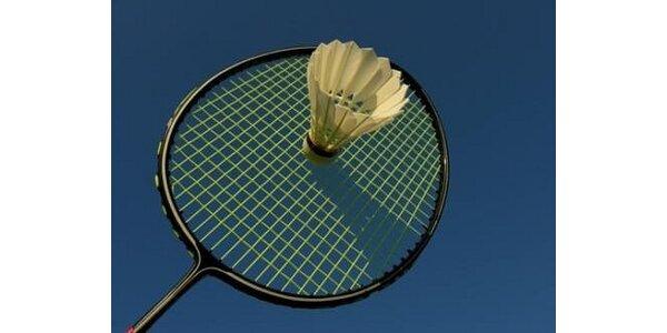 95 Kč za hodinu badmintonu v Ostravě v původní hodnotě 190 Kč