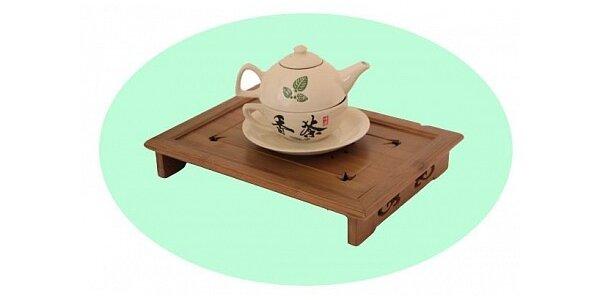 TEA FOR ONE - luxusní čajová souprava pro jednu osobu v dárkovém balení