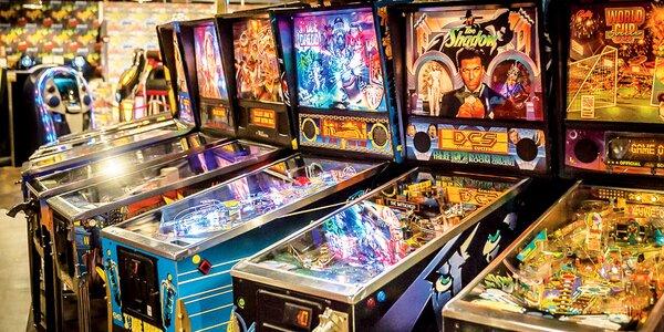 Vstup do muzea jukeboxů a pinballů: děti i dospělí