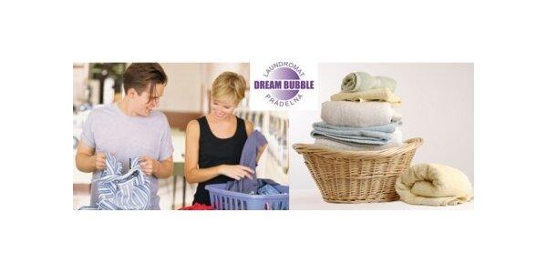 Praní a sušení osobního prádla v první samoobslužné prádelně
