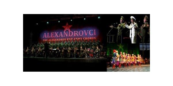 Sleva 50% za vstupenky na Alexandrovce - slavný ruský armádní soubor