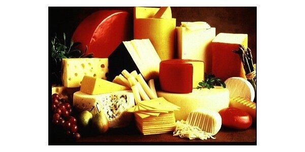 Jakékoli sýry podle Vašeho výběru v původní hodnotě 200 Kč