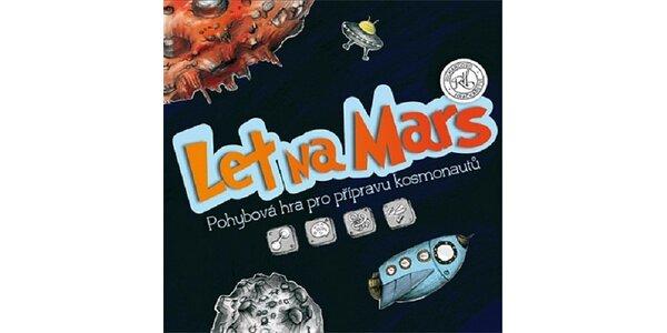 Skvělý dárek pro aktivní rodiny - pohybová hra: LET NA MARS
