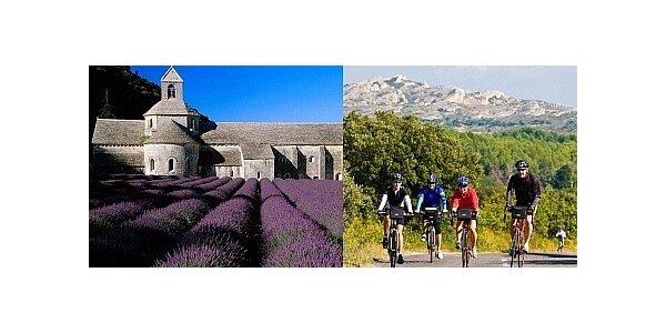 Poznejte krásy francouzské Provence na kole - osmidenní zájezd do Francie
