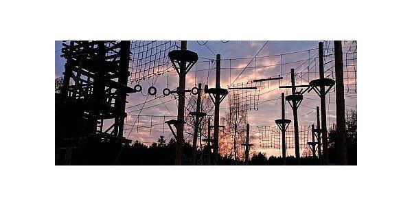 Adrenalin day v jednom z největších lanových parků v ČR