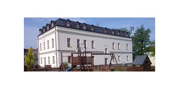 5.-8.7. 2012 - 4 dny s romantickou večeří - Adámkova vila**** Beskydy