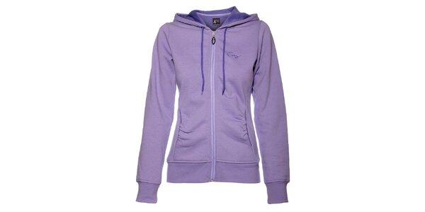 Dámská světle fialová mikina Envy s kapucí