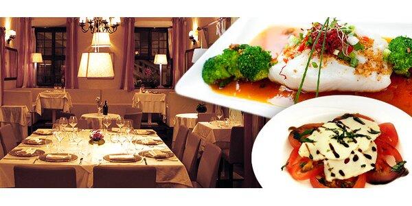 990 Kč za luxusní menu v hodnotě 2565 Kč v restauraci Locanda Marino!