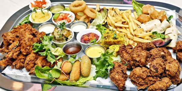 Obří talíř plný dobrot z farmářského kuřecího masa