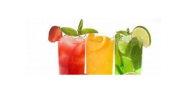 2 čerstvé freshe plné ovoce POMERANČ + GREP