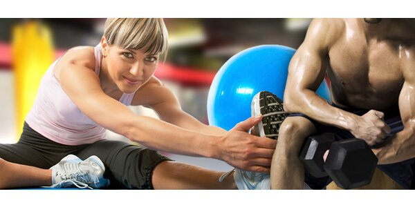 PĚT vstupů do největší posilovny vOlomouci Fitness Life
