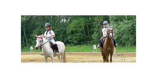 Příměstský tábor u koní na 5 dní ve Stružné u Karlových Varů