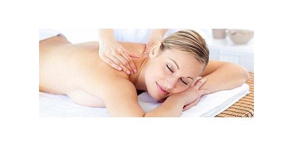 Klasická masáž zad v délce 60minut s 50% slevou