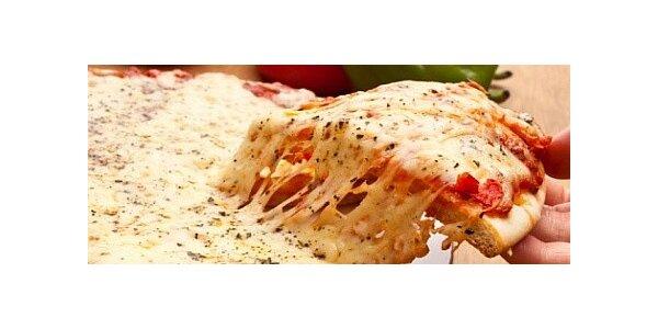 Výtečná pizza - výběr ze 3 druhů za pouhých 69 Kč