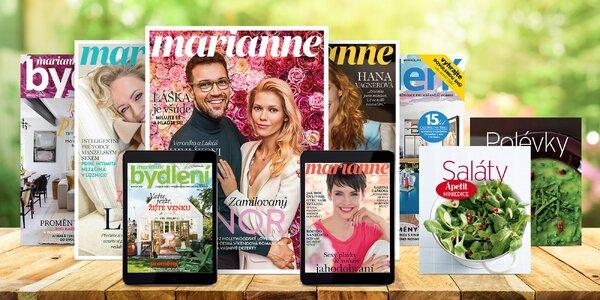 Půlroční či roční předplatné časopisu Marianne