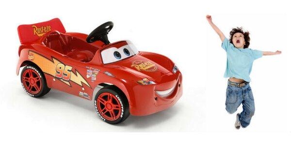 Šlapací autíčko Disney Blesk McQueen