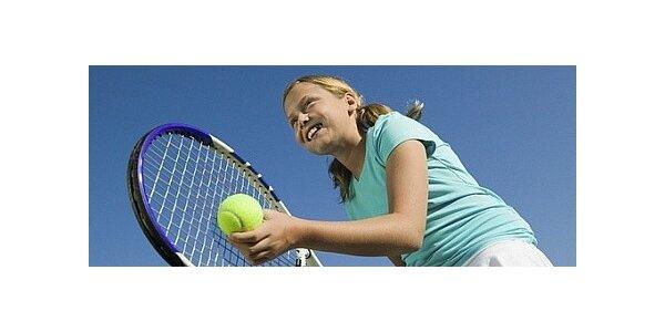 1800 Kč za týdenní intenzivní kurz tenisu pro děti