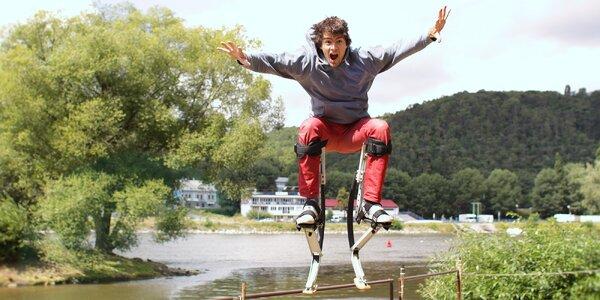 Zapůjčení skákacích bot: Hodina parádní zábavy