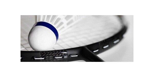 Tři hodiny pronájmu badmintonu za cenu dvou