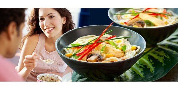 Výtečné asijské pokrmy v noodle baru NOODLE.CZ
