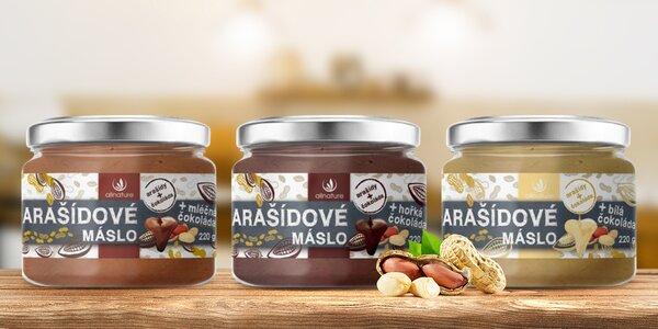 Pro zdravé mlsání: arašídový krém s čokoládou