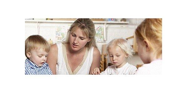 Hrátky s batolátky s prvky Montessori, kroužek pro maminky s dětmi 1-3 roky