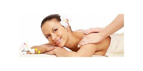 Dvě masáže - relaxační a rekondiční masáž