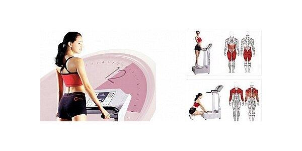 Vibrační plošina - permanentka na 200 minut cvičení