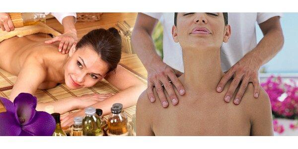 Tradiční thajská masáž se slevou 50 %
