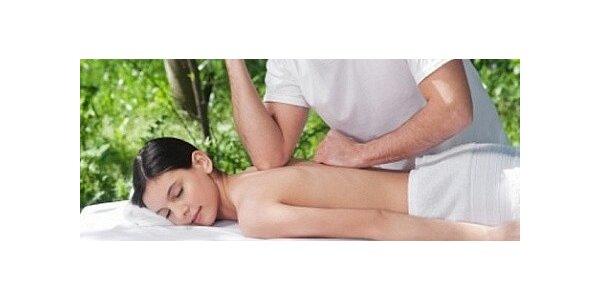 Havajská masáž Lomi Lomi v délce 60 minut