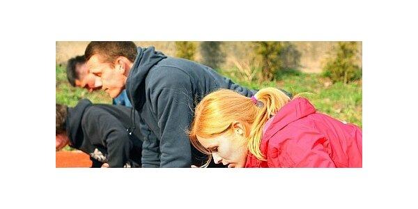 4 týdny venkovních tréninků na principech crossfitu
