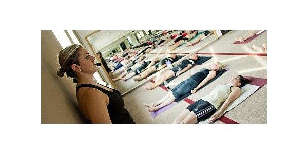 10 lekcí hot jógy v novém, luxusním a prostorném studiu