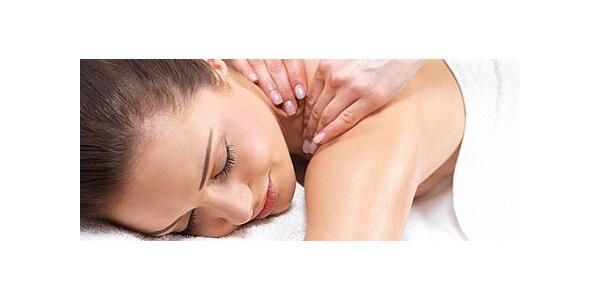 Uvolňující masáž šíje v délce 20 minut za skvělou cenu