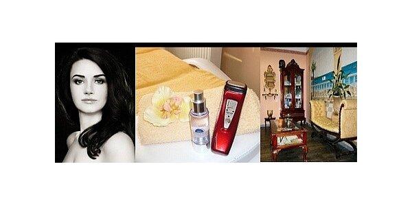 Luxusní kosmetické ošetření s dlouhou relaxační masáží
