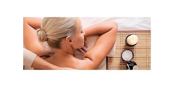 Masáž v délce 60 minut relaxačními bio oleji