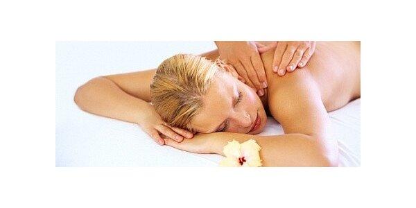 Relaxační masáž v délce 45 minut