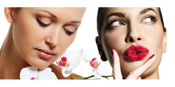 Luxusní balíček kosmetických služeb pro sametovou pleť