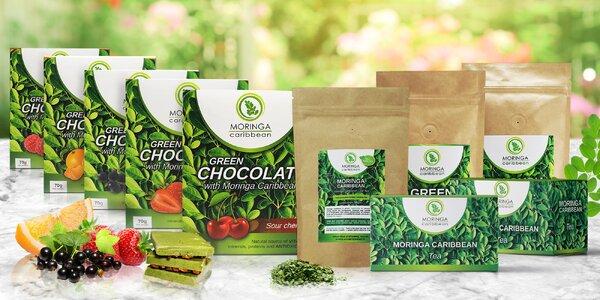 Pro vaše zdraví: káva, čaj i čokoláda s moringou