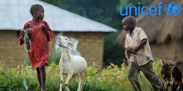 Koza či příspěvek pro nejchudší děti ve Rwandě