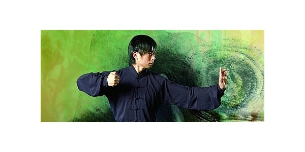 Hodina dechového cvičení čchi-kung s čínským mistrem