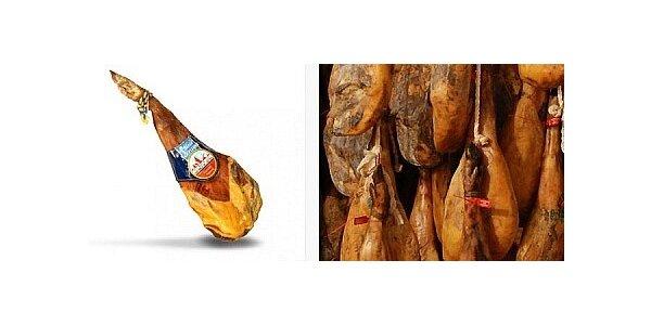Jamón serrano - kvalitní španělská sušená šunka.