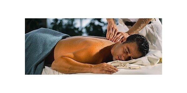 Balíček dvou masáží - celková masáž a masáž zád a šíje