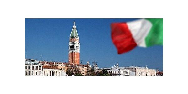 Benátky letecky - 3 dny včetně ubytování a transferů pro 1 osobu