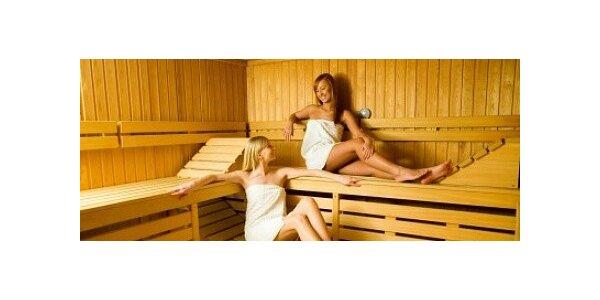 Vstup do sauny na dvě hodiny pro dvě osoby ve FITKU SLOVAN