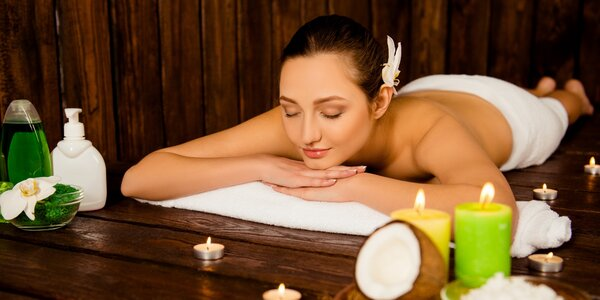 Thajská olejová masáž: eukalypt, citron i kokos