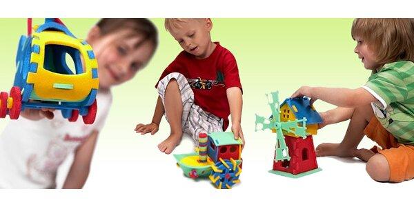 3D pěnové puzzle pro děti