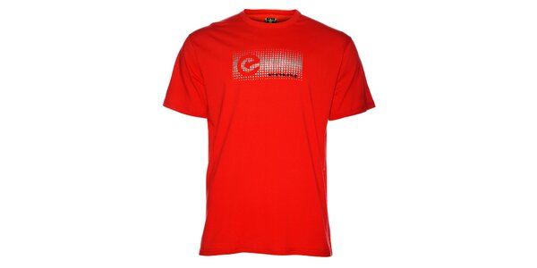 Pánské červené tričko Envy s potiskem
