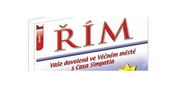 Ilustrovaný průvodce Římem s 20 slevovými kupóny